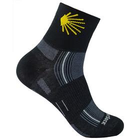 Wrightsock Stride Camino Quarter Socks Black